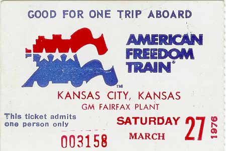 American Freedom Train in Kansas City