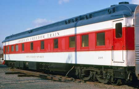 American Freedom Train Car 200 ex New York Central business car 7