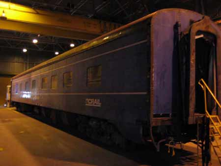 BC Rail Norman A. McPherson, ex American Freedom Train Car 201 ex Southern Pacific Sleeper 9111, ex 212 Golden River