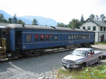 American Freedom Train Car 204 ex Reading 1332, Springmaid Special, Preamble Express, BC Rail Discovery