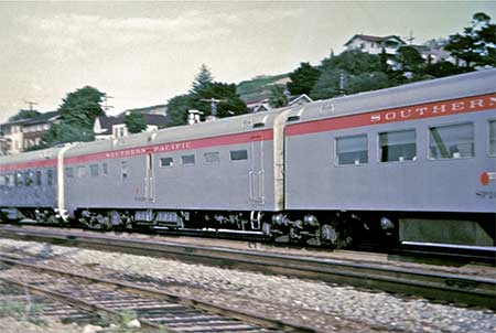 American Freedom Train Triple Unit Diner ex Southern Pacific 10280 10281 10282