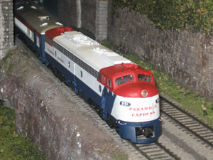 1974 Preamble Express UP 951 Model