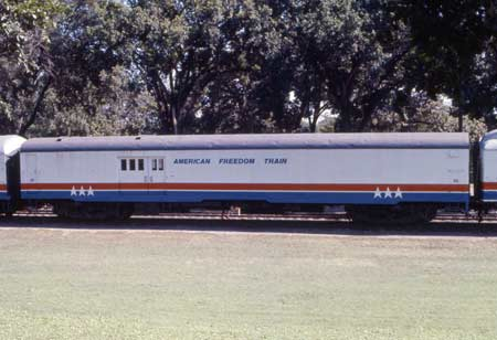 American Freedom Train Car 20 / 33 ex New York Central baggage car 9133