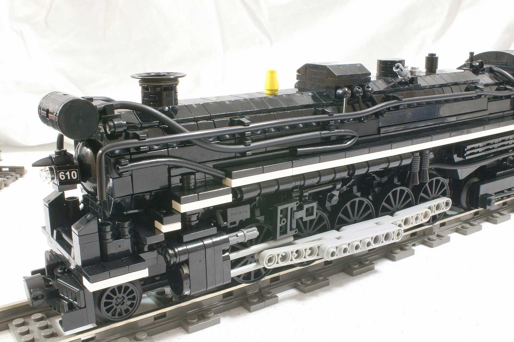 Lego Steam Train Lego Train Steam Loc