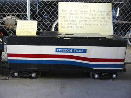 American Freedom Train live steam 3339