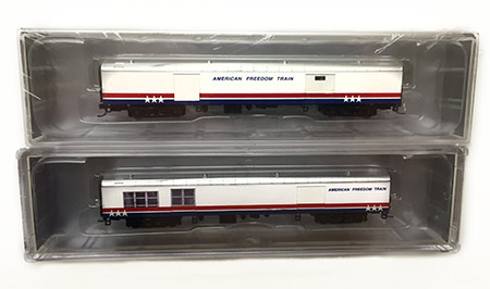 Lowell Smith Signature Series American Freedom Train in N Scale