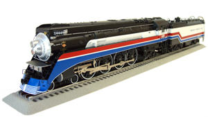 3rd Rail American Freedom Train GS-4 in O Scale