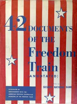 42 Documents of the Freedom Train