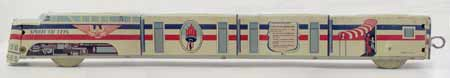 Freedom Train Elenee Tin Toy