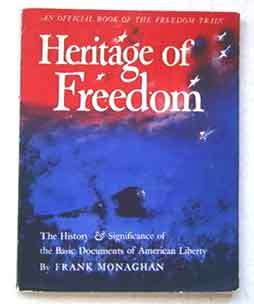 Heritage of Freedom book by Frank Monaghan