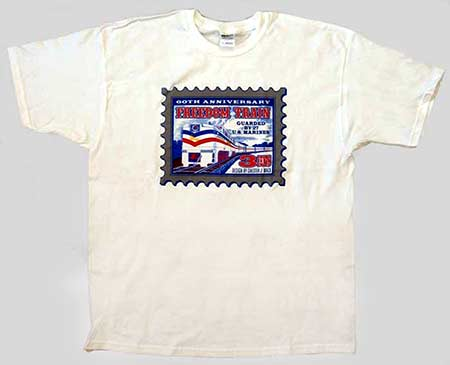 Freedom Train T-Shirt by George Barker